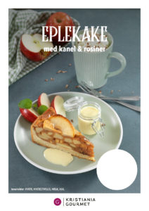 Eplekake Apple Tart Maison