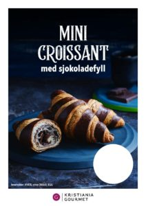 Mini Croissant Double Colour Chocolate
